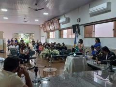 CRAS realiza Aula Inaugural do Projeto da Guarda-mirim em Caputira